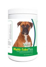 Healthy Breeds 840235139874 Boxer Multi-Tabs Plus Chewable Tablets - 180 Count