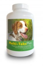 Healthy Breeds 840235139881 Brittany Multi-Tabs Plus Chewable Tablets - 180 Count