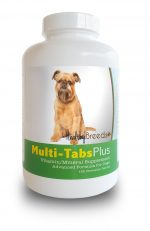 Healthy Breeds 840235139898 Brussels Griffon Multi-Tabs Plus Chewable Tablets - 180 Count