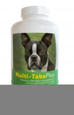 Healthy Breeds 840235139911 Boston Terrier Multi-Tabs Plus Chewable Tablets - 180 Count