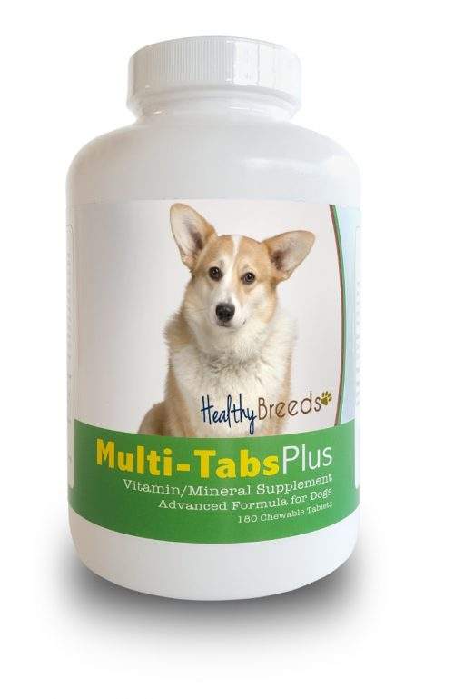 Healthy Breeds 840235139973 Cardigan Welsh Corgi Multi-Tabs Plus Chewable Tablets - 180 Count