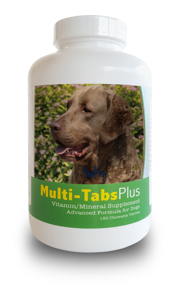 Healthy Breeds 840235140023 Chesapeake Bay Retriever Multi-Tabs Plus Chewable Tablets - 180 Count