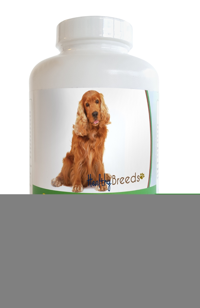 Healthy Breeds 840235140054 Cocker Spaniel Multi-Tabs Plus Chewable Tablets - 180 Count