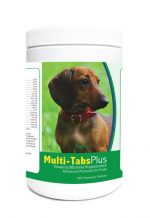 Healthy Breeds 840235140078 Dachshund Multi-Tabs Plus Chewable Tablets - 180 Count
