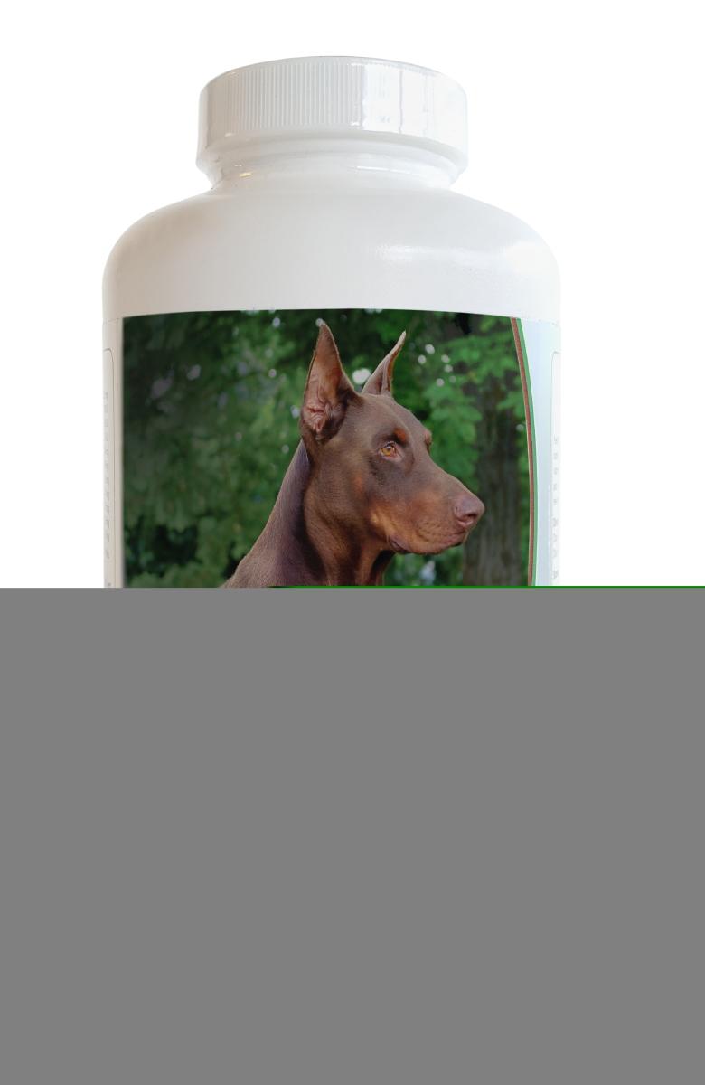 Healthy Breeds 840235140146 Doberman Pinscher Multi-Tabs Plus Chewable Tablets - 180 Count
