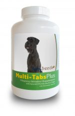 Healthy Breeds 840235140283 Giant Schnauzer Multi-Tabs Plus Chewable Tablets - 180 Count