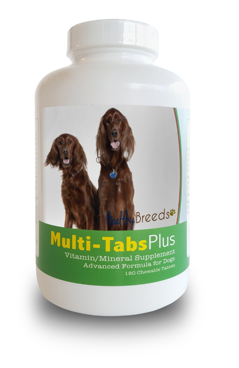 Healthy Breeds 840235140337 Irish Setter Multi-Tabs Plus Chewable Tablets - 180 Count