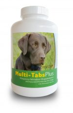 Healthy Breeds 840235140368 Labrador Retriever Multi-Tabs Plus Chewable Tablets - 180 Count