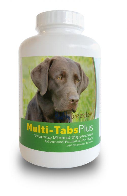 Healthy Breeds 840235140368 Labrador Retriever Multi-Tabs Plus Chewable Tablets - 180 Count