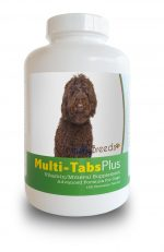 Healthy Breeds 840235140412 Labradoodle Multi-Tabs Vitamin Plus Chewable Tablets 180 Count