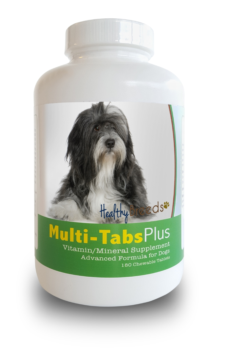 Healthy Breeds 840235140436 Lhasa Apso Multi-Tabs Plus Chewable Tablets 180 Count