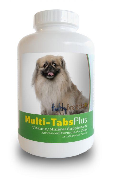 Healthy Breeds 840235140580 Pekingese Multi-Tabs Plus Chewable Tablets 180 Count
