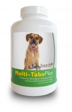 Healthy Breeds 840235140634 Puggle Multi-Tabs Plus Chewable Tablets 180 Count