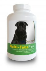 Healthy Breeds 840235140641 Pug Multi-Tabs Vitamin Plus Chewable Tablets 180 Count