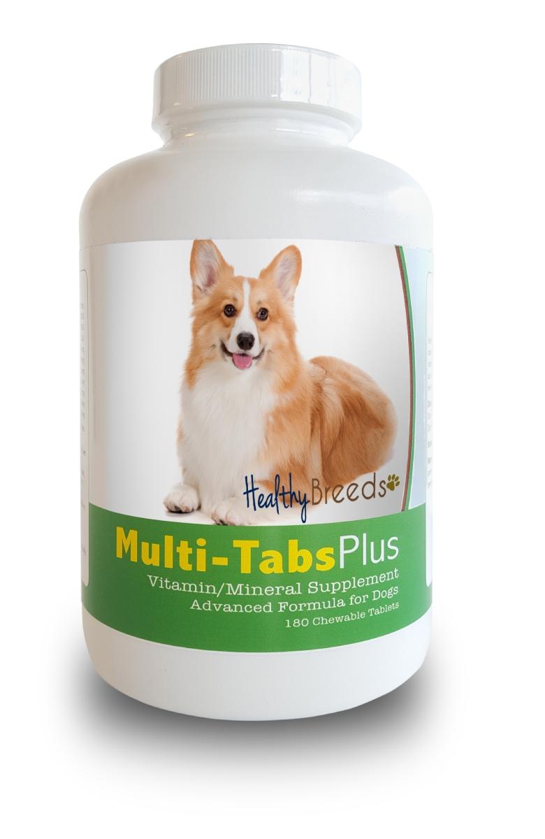 Healthy Breeds 840235140665 Pembroke Welsh Corgi Multi-Tabs Plus Chewable Tablets 180 Count