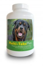 Healthy Breeds 840235140696 Rottweiler Multi-Tabs Plus Chewable Tablets 180 Count