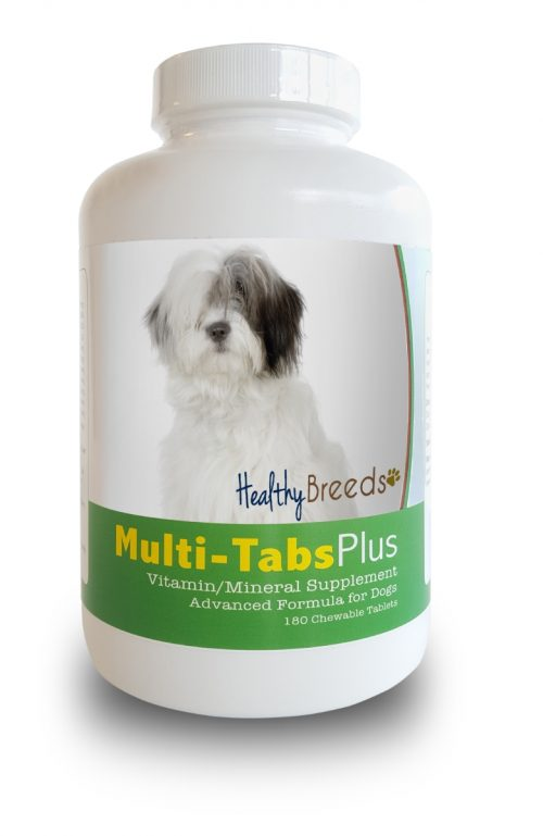 Healthy Breeds 840235140733 Old English Sheepdog Multi-Tabs Plus Chewable Tablets 180 Count
