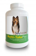 Healthy Breeds 840235140740 Shetl & Sheepdog Multi-Tabs Plus Chewable Tablets 180 Count