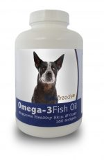 Healthy Breeds 840235140986 Australian Cattle Dog Omega-3 Fish Oil Softgels 180 Count