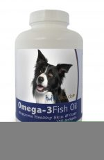 Healthy Breeds 840235141013 Border Collie Omega-3 Fish Oil Softgels 180 Count