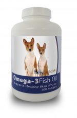 Healthy Breeds 840235141143 Basenji Omega-3 Fish Oil Softgels 180 Count