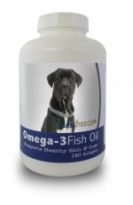 Healthy Breeds 840235141198 Cane Corso Omega-3 Fish Oil Softgels 180 Count