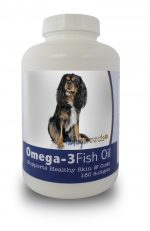 Healthy Breeds 840235141204 Cavalier King Charles Spaniel Omega-3 Fish Oil Softgels 180 Count