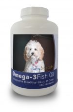 Healthy Breeds 840235141242 Cockapoo Omega-3 Fish Oil Softgels 180 Count