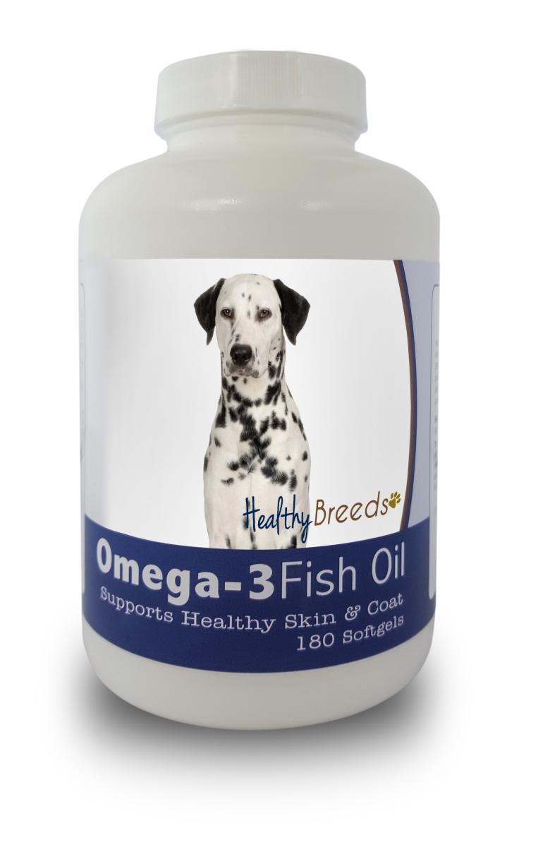 Healthy Breeds 840235141327 Dalmatian Omega-3 Fish Oil Softgels 180 Count
