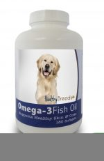 Healthy Breeds 840235141457 Golden Retriever Omega-3 Fish Oil Softgels 180 Count