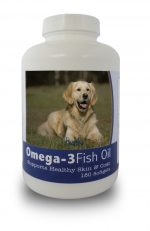 Healthy Breeds 840235141464 Golden Retriever Omega-3 Fish Oil Softgels 180 Count