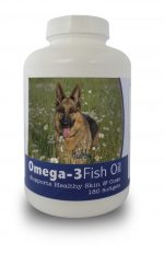 Healthy Breeds 840235141488 German Shepherd Omega-3 Fish Oil Softgels 180 Count