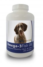 Healthy Breeds 840235141518 German Shorthaired Pointer Omega-3 Fish Oil Softgels 180 Count