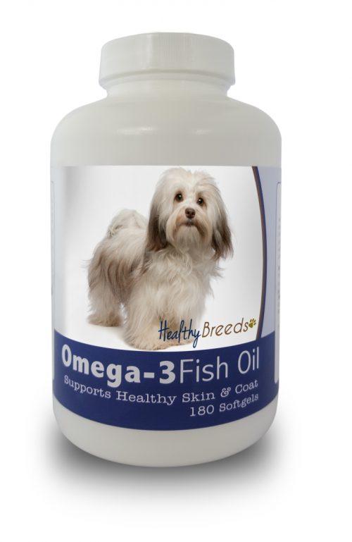 Healthy Breeds 840235141549 Havanese Omega-3 Fish Oil Softgels 180 Count