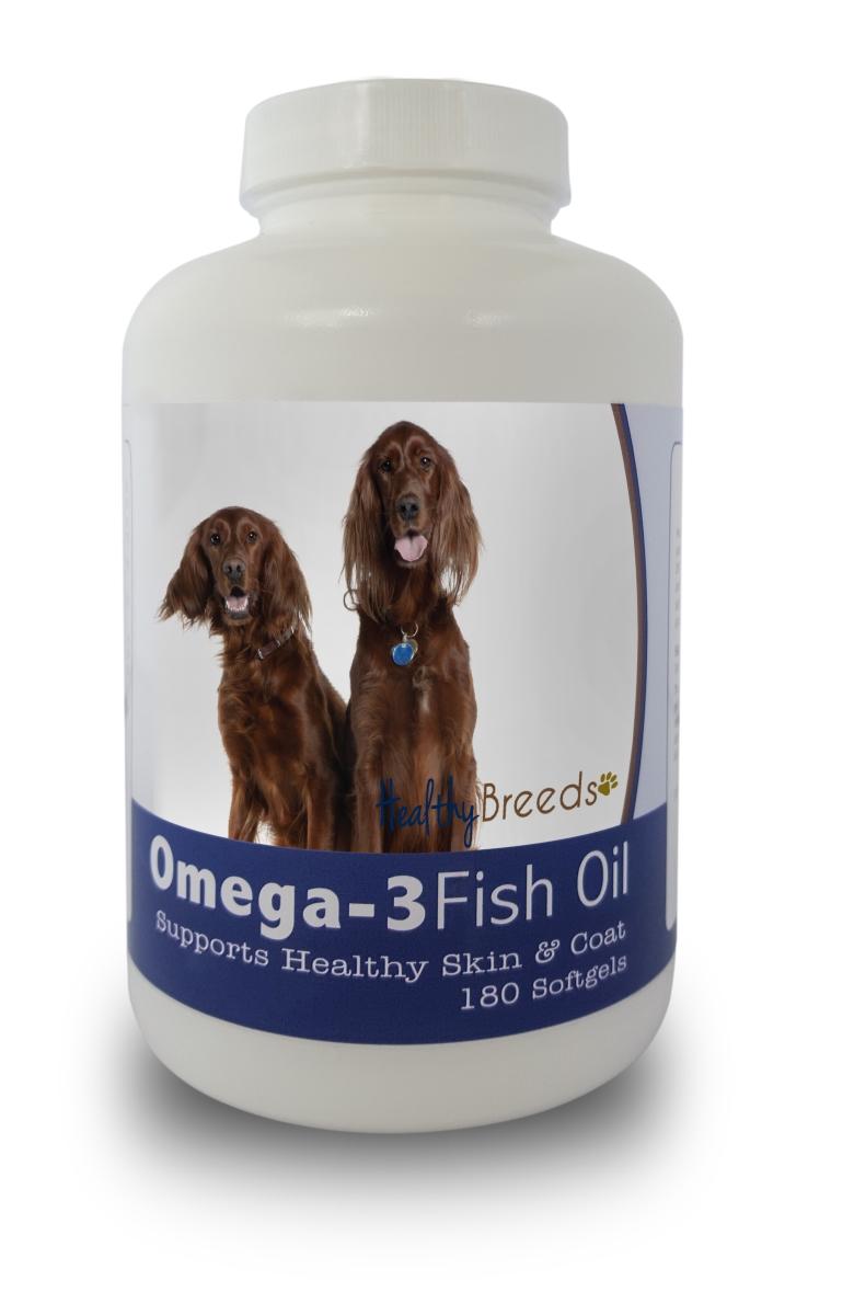 Healthy Breeds 840235141563 Irish Setter Omega-3 Fish Oil Softgels 180 Count
