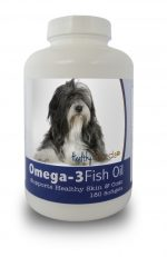 Healthy Breeds 840235141662 Lhasa Apso Omega-3 Fish Oil Softgels 180 Count