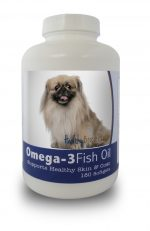Healthy Breeds 840235141792 Pekingese Omega-3 Fish Oil Softgels 180 Count