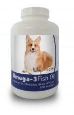 Healthy Breeds 840235141884 Pembroke Welsh Corgi Omega-3 Fish Oil Softgels 180 count