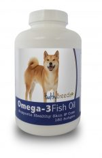 Healthy Breeds 840235141990 Shiba Inu Omega-3 Fish Oil Softgels - 180 count