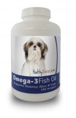 Healthy Breeds 840235142034 Shih Tzu Omega-3 Fish Oil Softgels - 180 count