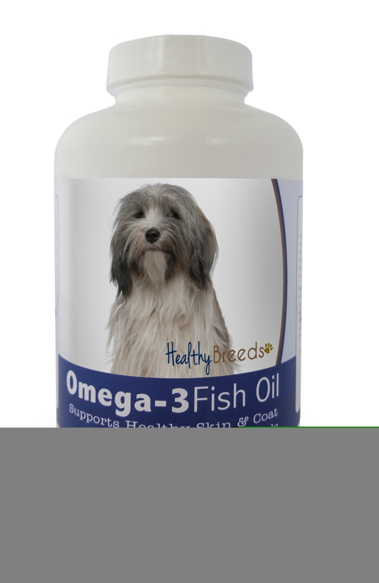 Healthy Breeds 840235142058 Tibetan Terrier Omega-3 Fish Oil Softgels - 180 count