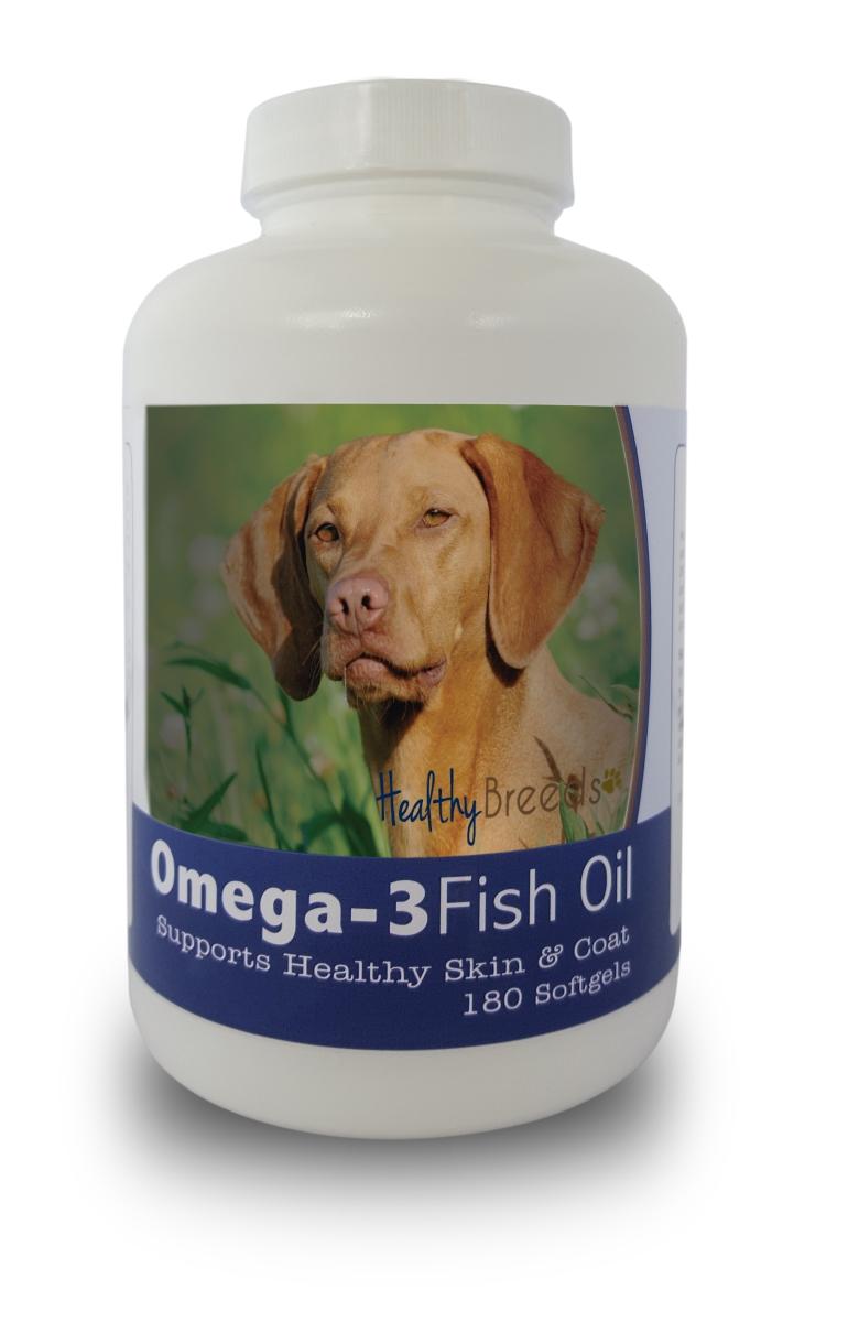 Healthy Breeds 840235142065 Vizsla Omega-3 Fish Oil Softgels - 180 count