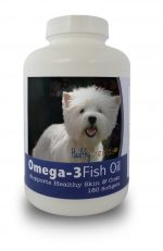 Healthy Breeds 840235142102 West Highland White Terrier Omega-3 Fish Oil Softgels - 180 count