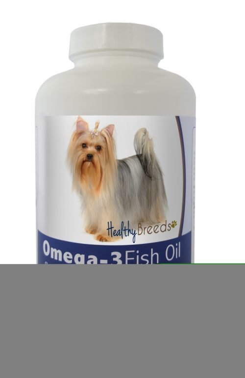 Healthy Breeds 840235142133 Yorkshire Terrier Omega-3 Fish Oil Softgels - 180 count