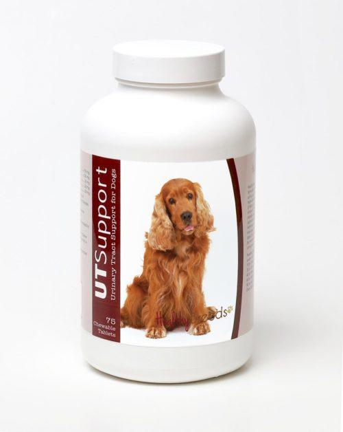 Healthy Breeds 840235143574 Cocker Spaniel Cranberry Chewables - 75 Count