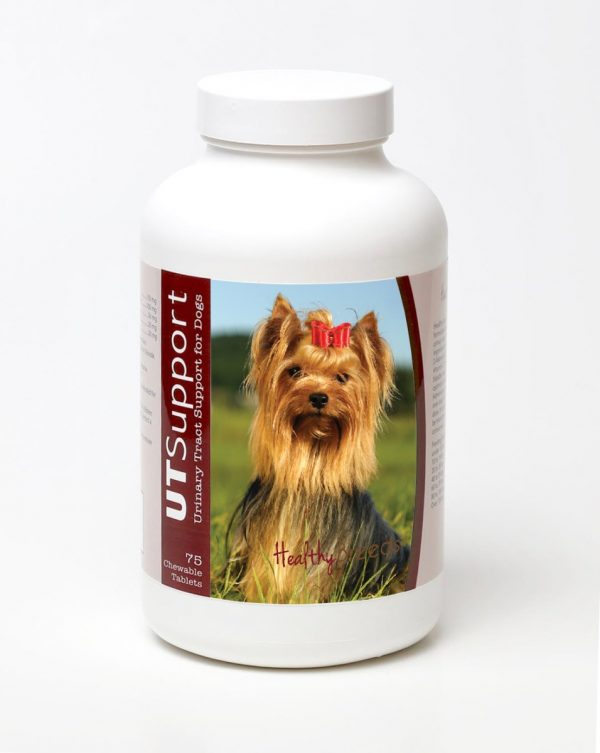 Healthy Breeds 840235143581 Yorkshire Terrier Cranberry Chewables - 75 Count