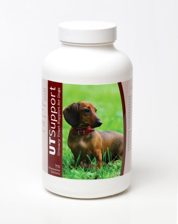 Healthy Breeds 840235143598 Dachshund Cranberry Chewables - 75 Count