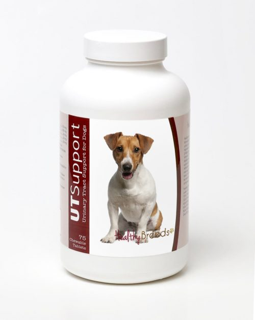 Healthy Breeds 840235143673 Jack Russell Terrier Cranberry Chewables - 75 Count