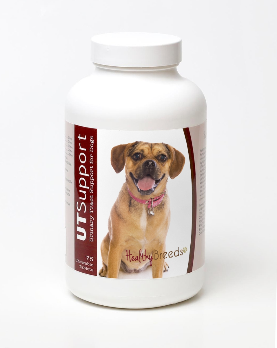 Healthy Breeds 840235143680 Puggle Cranberry Chewables - 75 Count