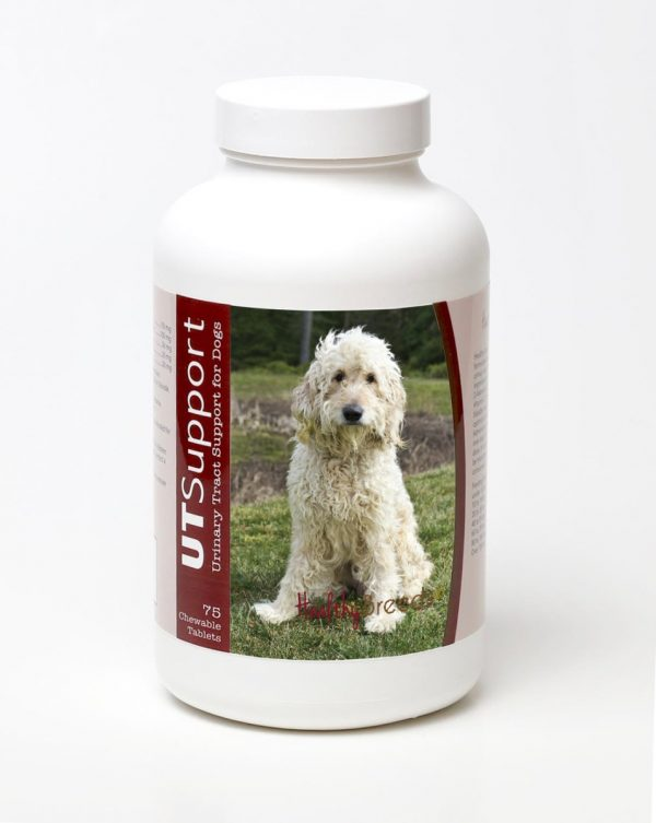 Healthy Breeds 840235143727 Goldendoodle Cranberry Chewables - 75 Count